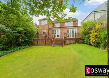 Thumbnail 4 bed detached house for sale in Claremont Road, Hadley Wood, Hertfordshire