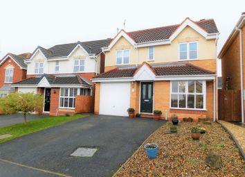 Thumbnail 4 bed detached house for sale in Padstow Drive, Saxonfields, Stafford