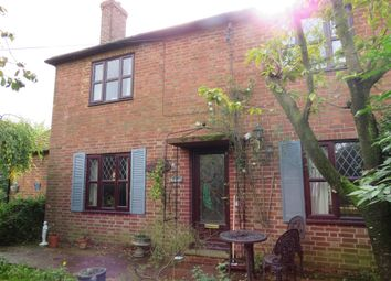 Thumbnail 3 bed semi-detached house for sale in West Fen Drove, Whittlesey, Peterborough
