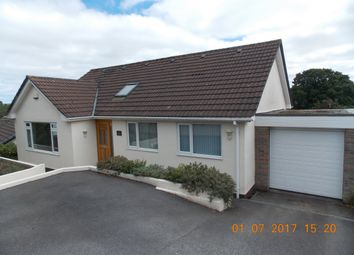 Thumbnail 5 bed detached house to rent in Springfield Close, Polgooth, St. Austell