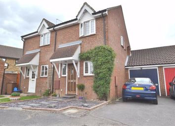 Thumbnail 2 bed semi-detached house for sale in The Hedgerows, Chells Manor, Stevenage, Herts