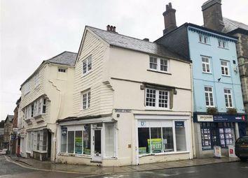 Thumbnail Retail premises for sale in 11-13, High Street, Launceston