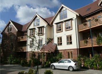 Thumbnail 2 bed flat to rent in Ashbourne Gardens, Hertford