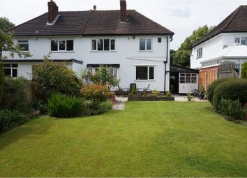 Thumbnail 3 bed semi-detached house for sale in Broadway North, Walsall
