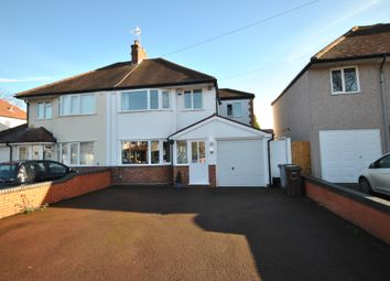 Thumbnail 4 bed semi-detached house to rent in Fabian Crescent, Shirley, Solihull