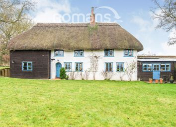 Thumbnail 4 bed detached house to rent in East Cholderton, Andover