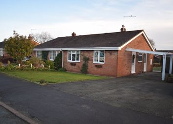 Thumbnail 2 bed semi-detached bungalow for sale in Somerset Way, Wem, Shrewsbury