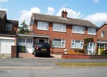 Thumbnail 3 bedroom semi-detached house to rent in Crossways, York