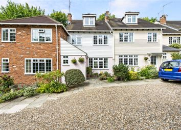 Thumbnail 3 bedroom terraced house for sale in Heath Farm Court, Grove Mill Lane, Watford, Hertfordshire