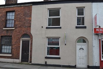 Thumbnail 3 bed terraced house to rent in Brook Street, Macclesfield, Cheshire