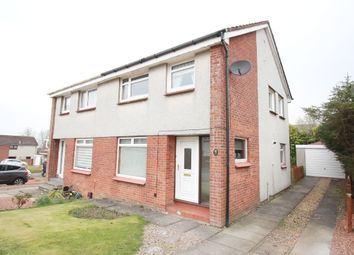 Thumbnail 3 bedroom semi-detached house for sale in Hallcraig Place, Carluke, Law