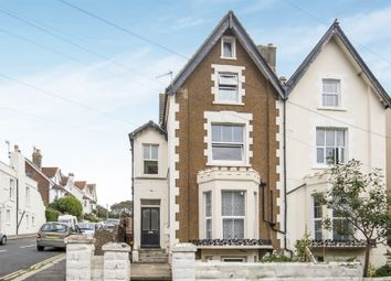 Thumbnail 2 bedroom flat for sale in Garden Flat, Church Road, St. Leonards-On-Sea, East Sussex