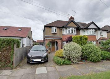 Thumbnail 3 bed semi-detached house for sale in Chalkwell Park Avenue, Enfield