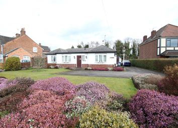 Thumbnail 4 bed detached bungalow for sale in Tatenhill Lane, Branston, Burton-On-Trent