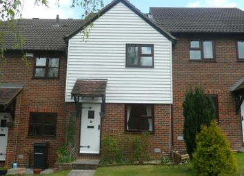 Thumbnail 2 bedroom terraced house to rent in Silvertree Close, Walderslade Woods, Kent