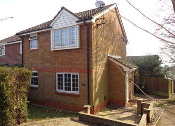 Thumbnail 1 bed end terrace house to rent in Devonshire Gardens, Bursledon, Southampton