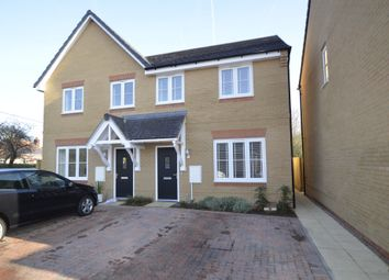 Thumbnail 3 bed semi-detached house for sale in Mariners Way, Trimley St Mary, Felixstowe