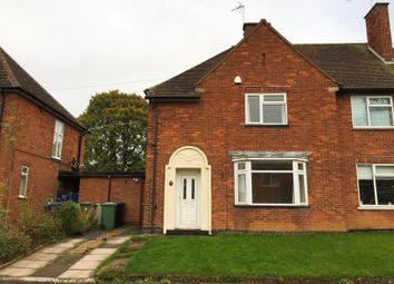 Thumbnail 3 bed semi-detached house to rent in St Cuthberts Avenue, Great Glen, Leicester