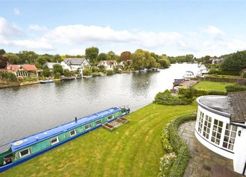 Thumbnail 4 bedroom detached bungalow for sale in Hamm Court, Weybridge, Surrey