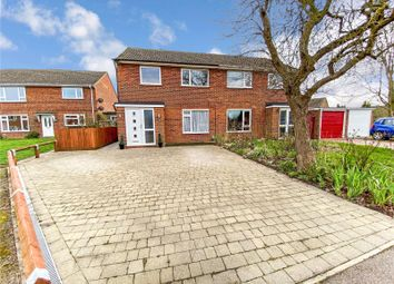 Thumbnail 3 bed semi-detached house for sale in Chequers Close, Fenstanton, Huntingdon, Cambridgeshire
