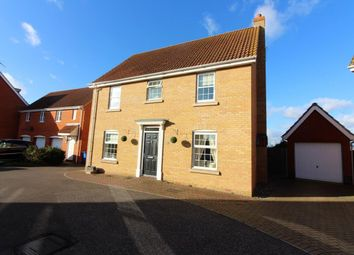 Thumbnail 4 bedroom detached house for sale in Holystone Way, Carlton Colville