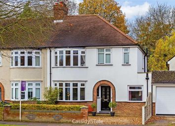 Thumbnail 4 bed semi-detached house for sale in Beech Road, St Albans, Hertfordshire