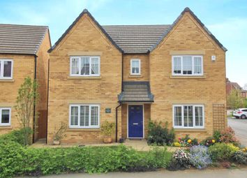 Thumbnail 4 bed detached house for sale in Wheatfield Way, Barleythorpe, Oakham