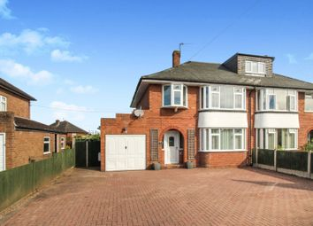 Thumbnail 3 bed semi-detached house for sale in Berwyn Drive, Bayston Hill, Shrewsbury