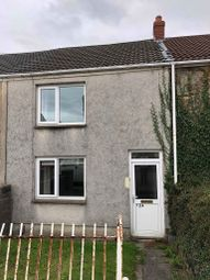 Thumbnail 2 bed terraced house to rent in Swansea Road, Waunarlwydd