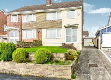 Thumbnail 3 bed semi-detached house for sale in Henley Drive, Tamerton Foliot, Plymouth