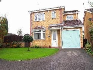 Thumbnail 3 bed detached house for sale in Minster Close, Hucknall, Nottingham
