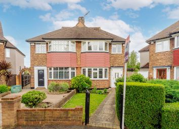 Thumbnail 3 bed semi-detached house for sale in Barrington Road, North Cheam, Sutton