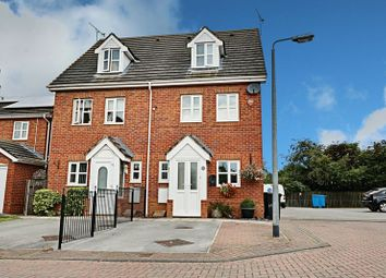 Thumbnail 3 bed semi-detached house for sale in Heatherwood Court, Bransholme, Hull