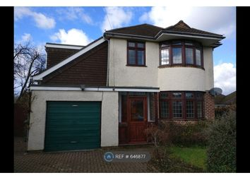 Thumbnail 4 bed detached house to rent in Chessel Crescent, Southampton