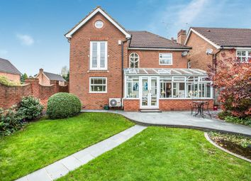 Thumbnail 4 bed detached house for sale in Swift Close, Kenilworth