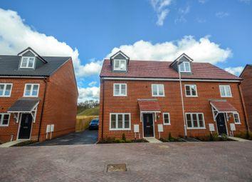 Thumbnail 4 bed semi-detached house for sale in Mapletoft Avenue, Saffron Walden, Essex
