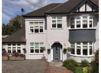Thumbnail 4 bed semi-detached house for sale in Dene Road, Whetsone/East Barnet Borders