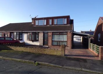 Thumbnail 3 bed bungalow for sale in Jackson Street, Burtonwood, Warrington, Cheshire