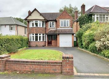 Thumbnail 4 bed detached house for sale in Ulverley Green Road, Olton, Solihull, West Midlands