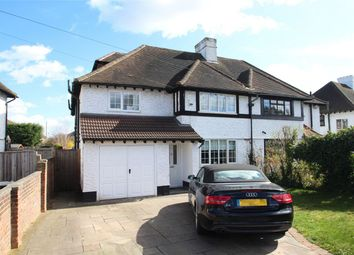 Thumbnail 5 bed semi-detached house for sale in Fairway, Petts Wood, Orpington