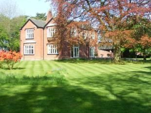 Thumbnail 5 bedroom detached house for sale in The Old Rectory, Lady Lane, Croft, Warrington