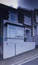 Thumbnail 1 bed terraced house to rent in Stow Hill, Treforest, Pontypridd