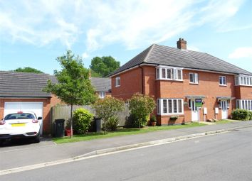 Thumbnail 3 bed semi-detached house for sale in Discovery Close, Coalville, Leicestershire