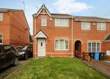 Thumbnail 3 bedroom semi-detached house for sale in Leavale Close, Little Hulton, Manchester