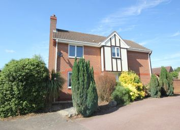 Thumbnail 3 bed detached house for sale in Howard Close, Thorpe St Andrew, Norwich