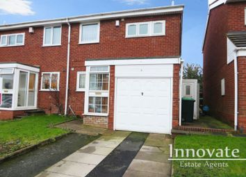 Thumbnail 3 bedroom semi-detached house for sale in Churchill Close, Tividale, Oldbury