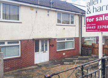 Thumbnail 2 bed flat for sale in Moorland Crescent, Beddau, Pontypridd