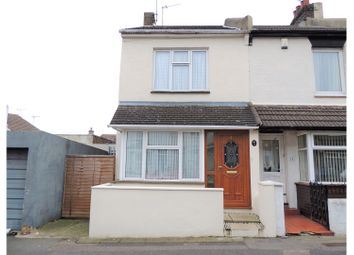 Thumbnail 3 bedroom end terrace house for sale in Albany Road, Gillingham