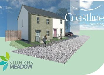 Thumbnail 2 bed semi-detached house for sale in Hendra, Stithians, Truro
