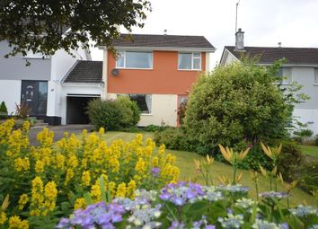 Thumbnail 3 bed detached house for sale in Bosvean Gardens, Truro
